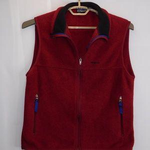 Vintage Patagonia Red Syncilla Fleece Vest